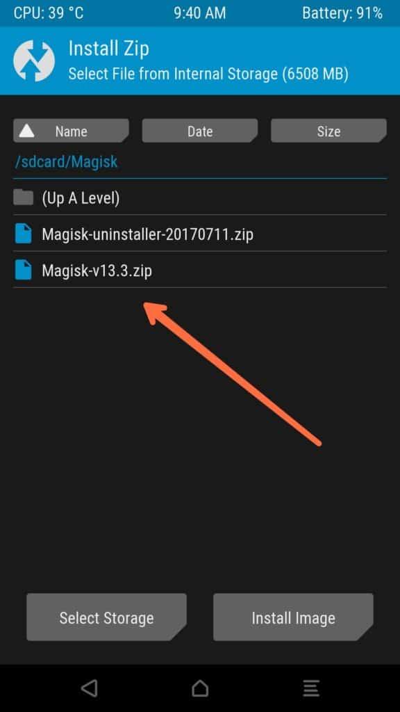 Twrp Magisk 13.3