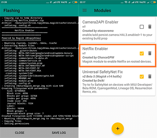 netflix enabler magisk module