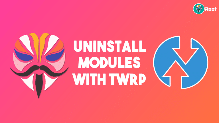 how to uninstall magisk modules using twrp recovery