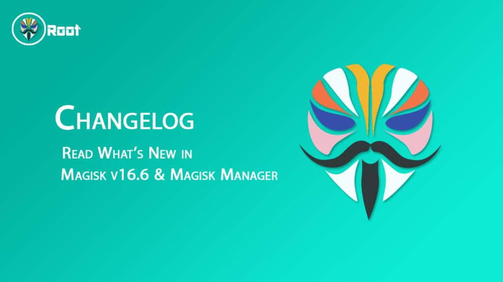 magisk v16.6 and magisk manager v5.80