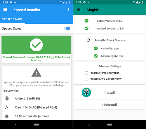Download Xposed for Android Pie 9 0 [Magisk Module] | MagiskRoot